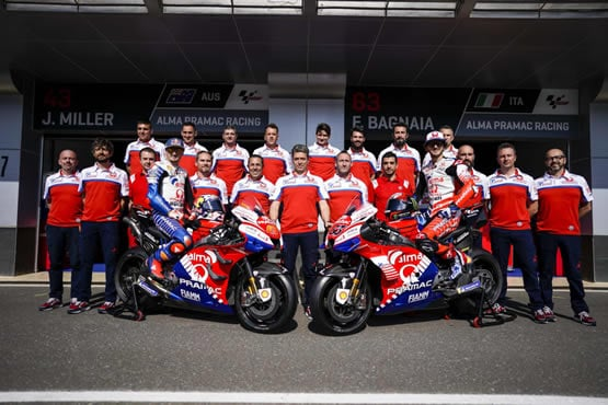 pramac motogp team