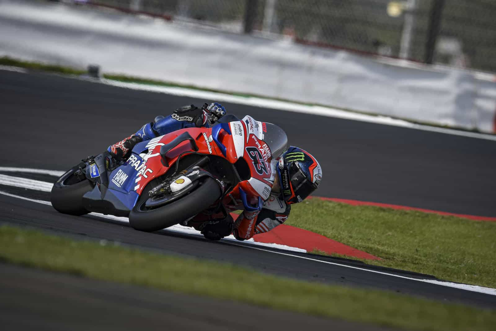 pramac at silverstone for british gp
