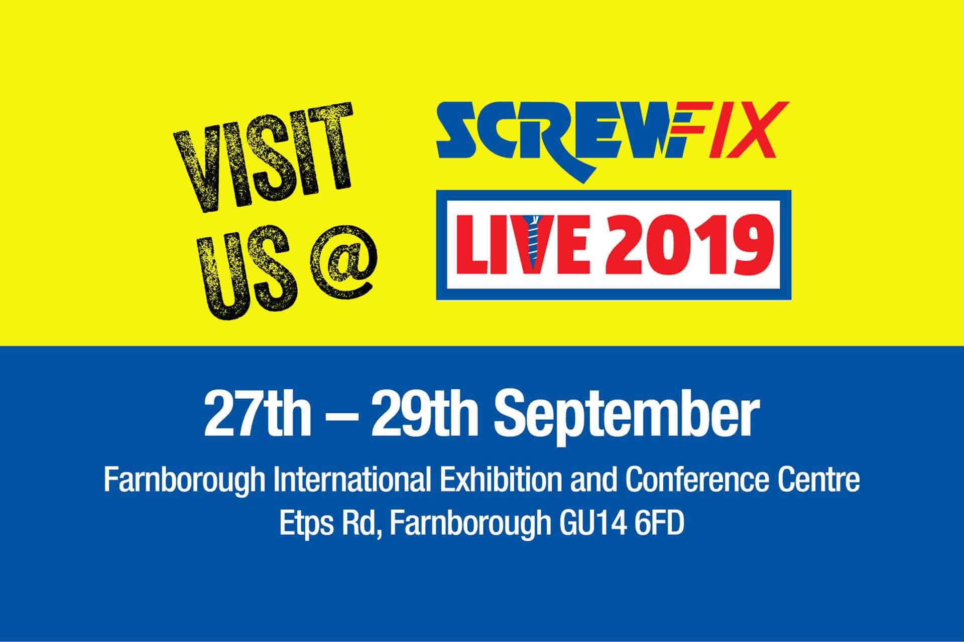 Visit WD-40 @ Screwfix Live 2019