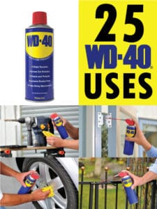 25 Awesome WD-40 Uses That you didn't know about!