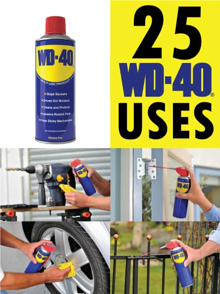 25 wd-40 uses