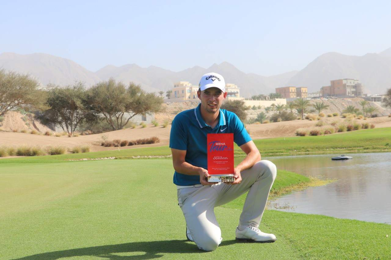 Bailey Gill Wins Ghala Open & Wins A Place At The Oman Open Leg Of The European Tour