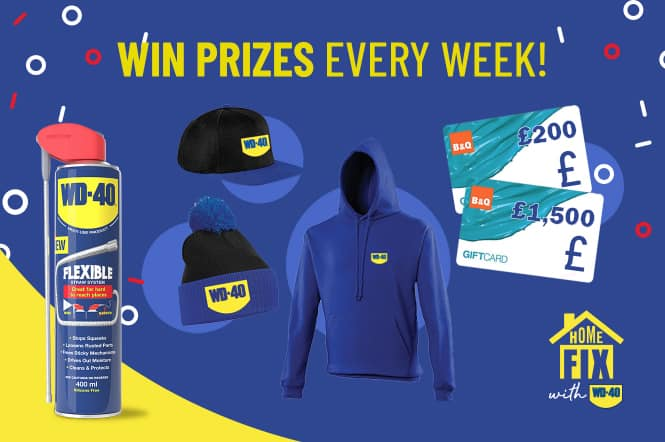 homefix with wd-40 competition