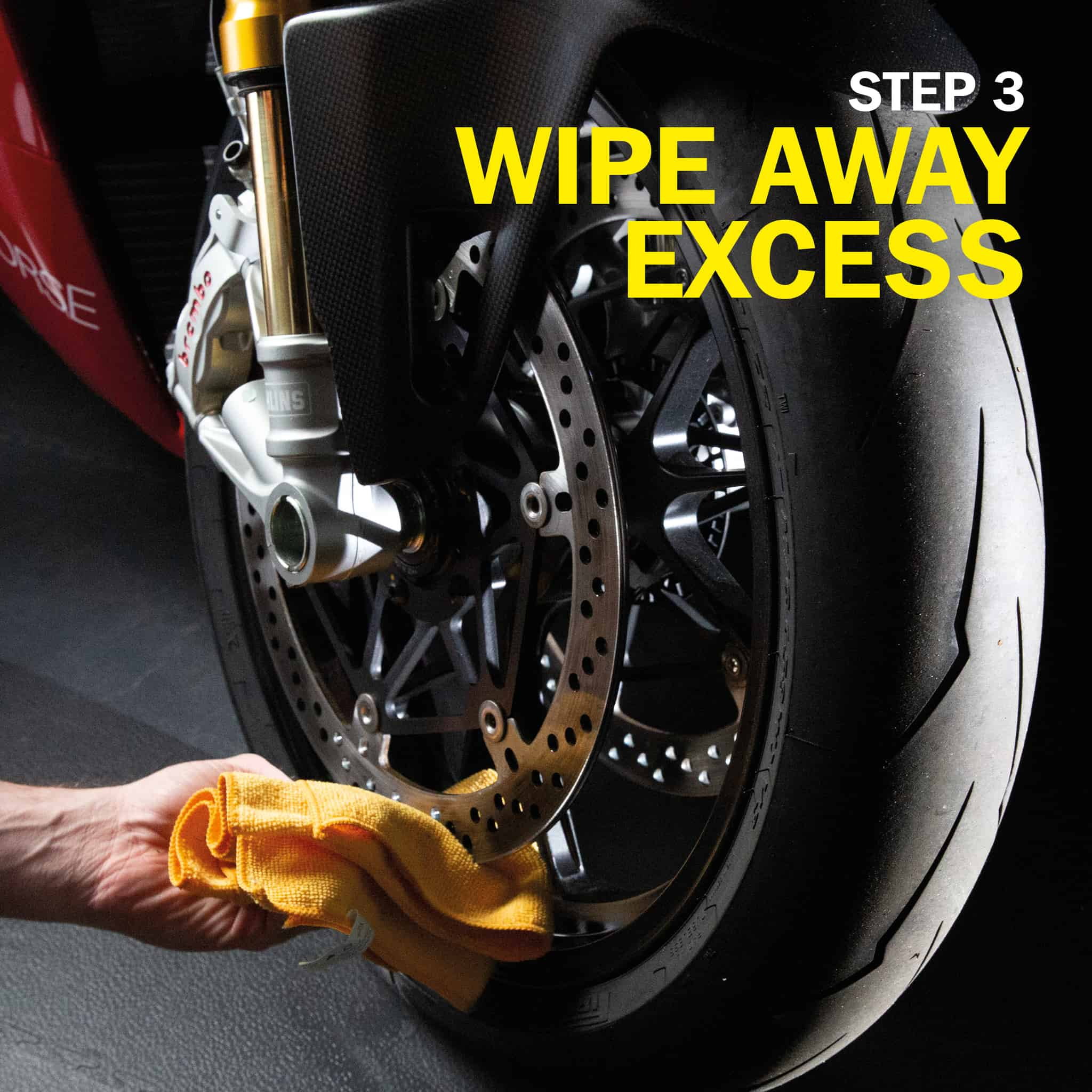 wd40 motorbike brake cleaner how to use part 6