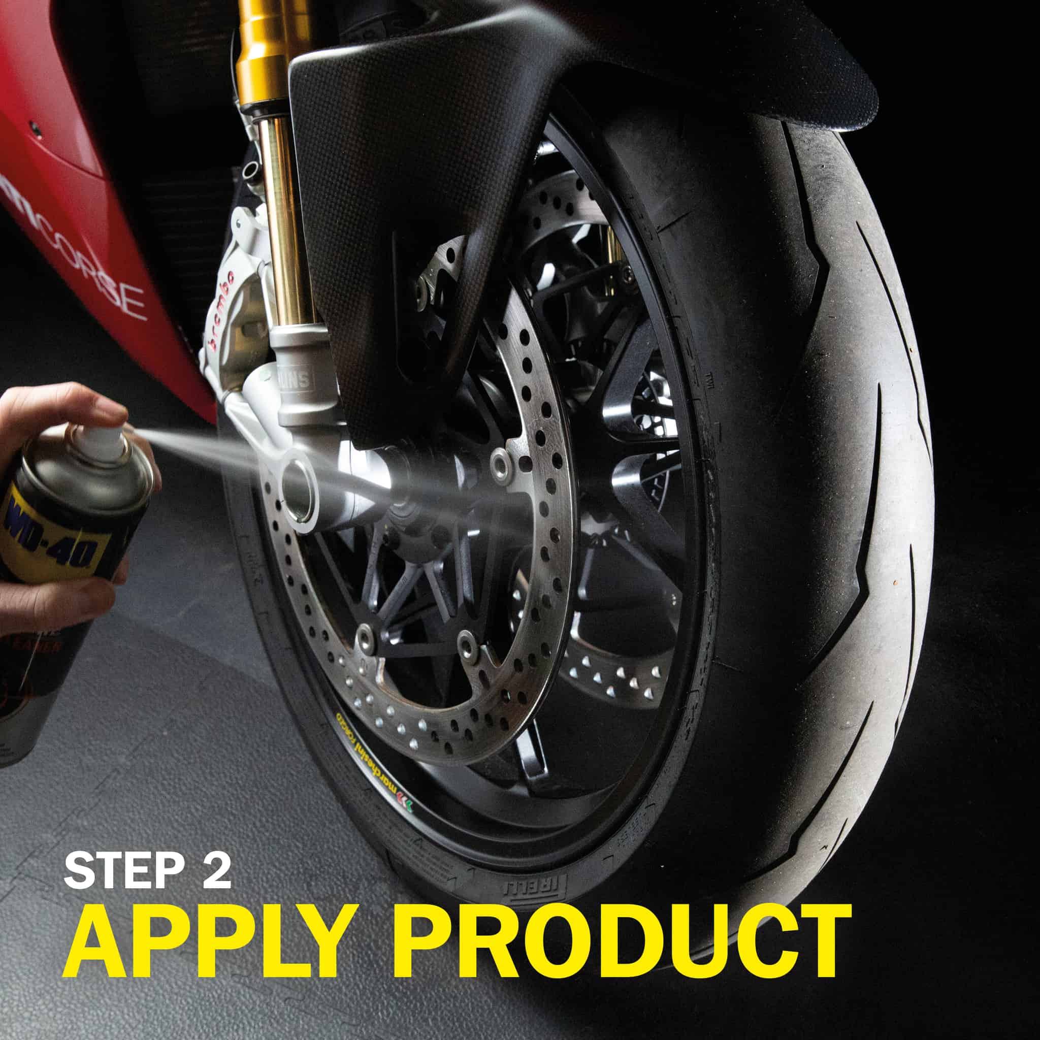 wd40 motorbike brake cleaner how to use part 5