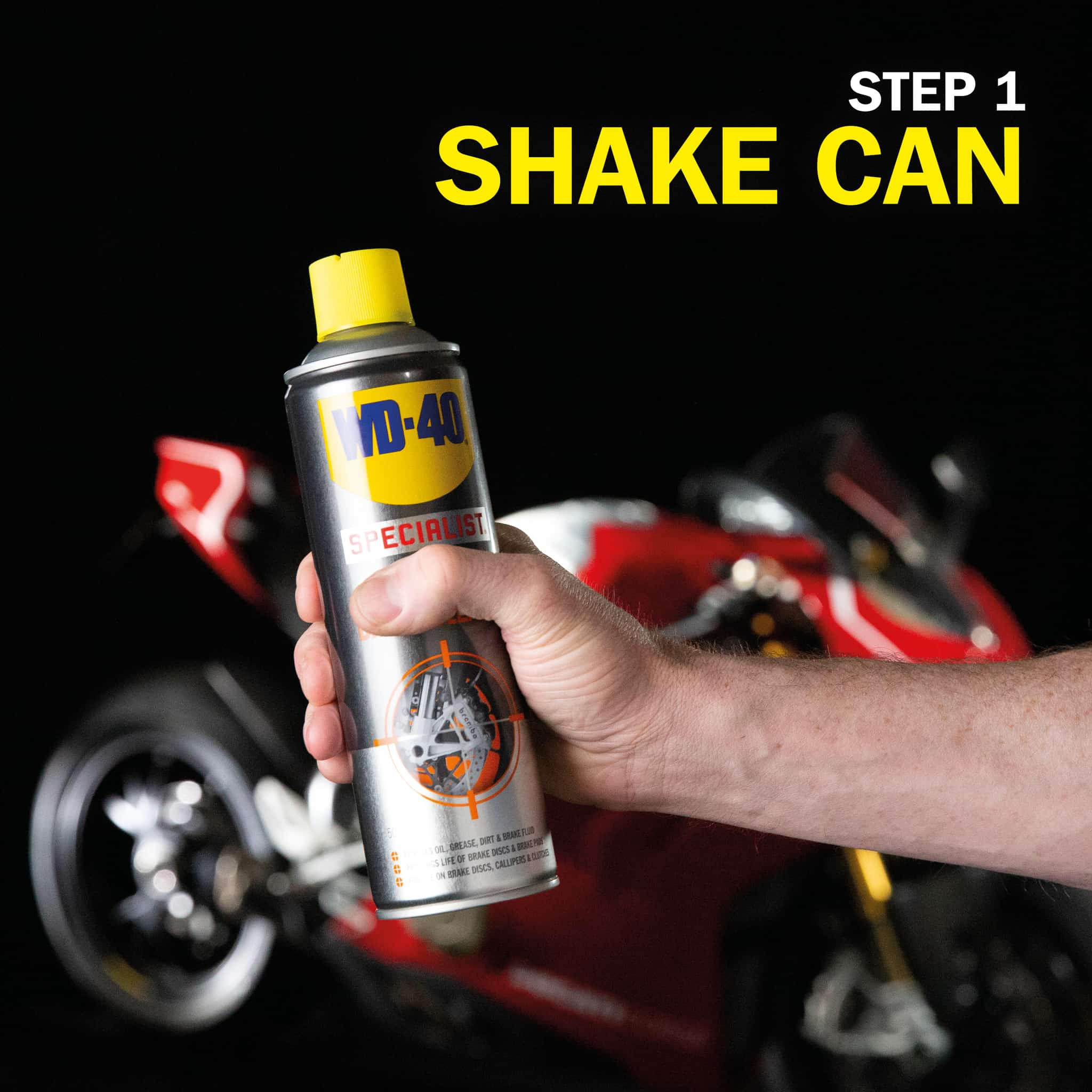 wd40 motorbike brake cleaner how to use part 4