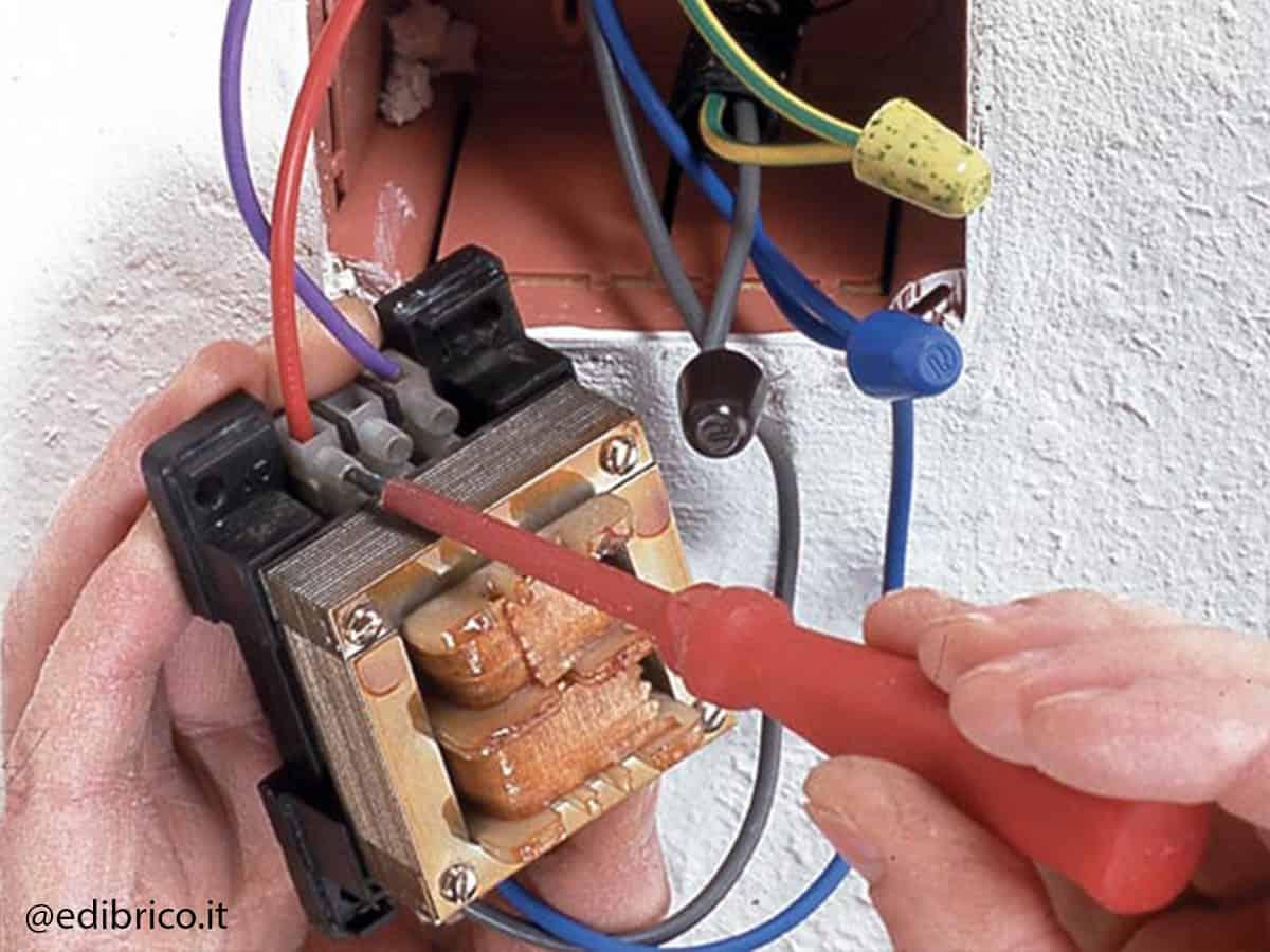 controler transformateur sonnette