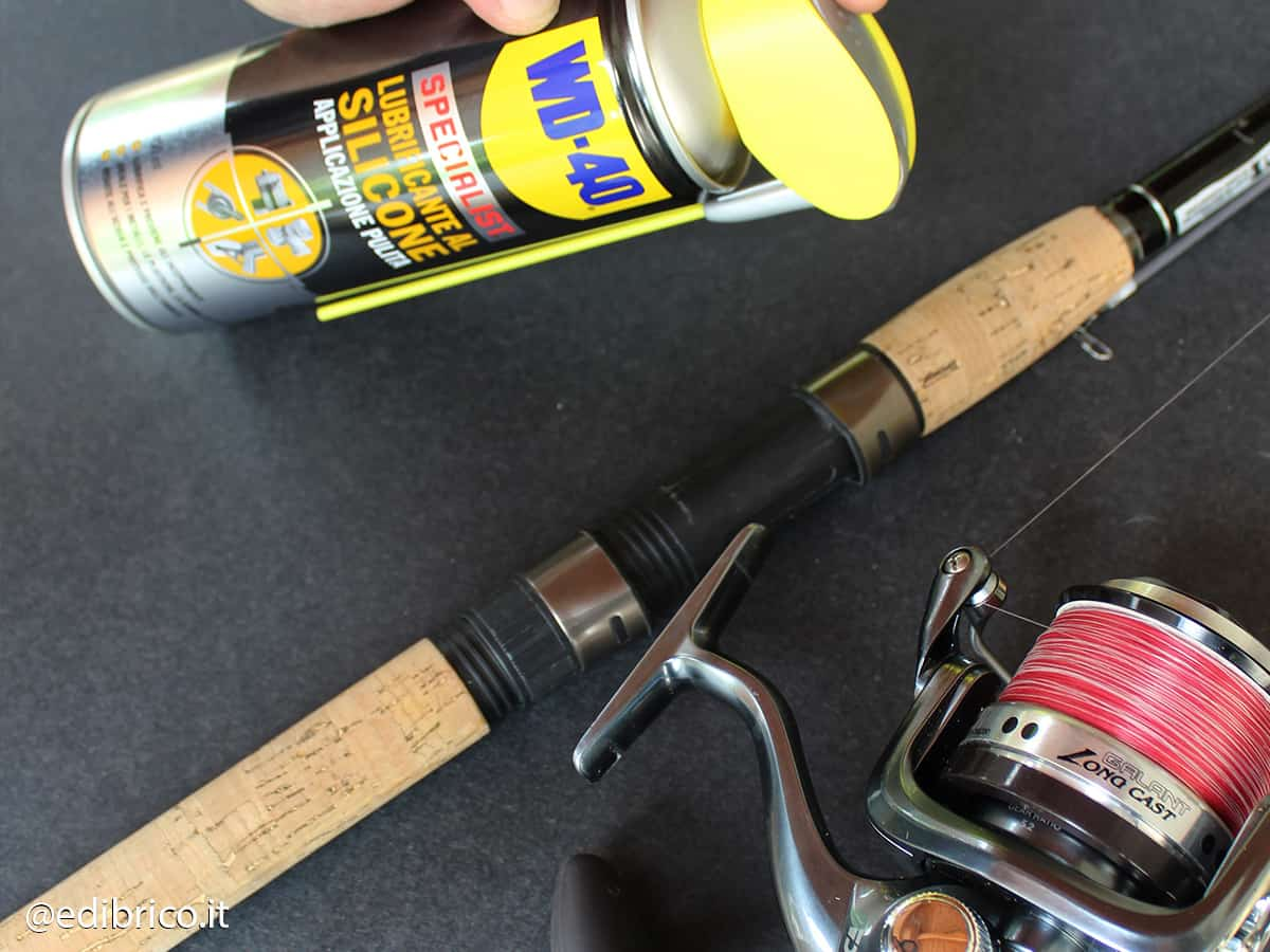 how to carry out fishing rod maintenance@edibrico 7