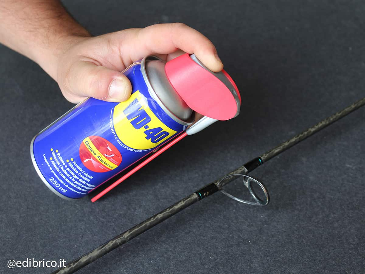 how to carry out fishing rod maintenance@edibrico 5