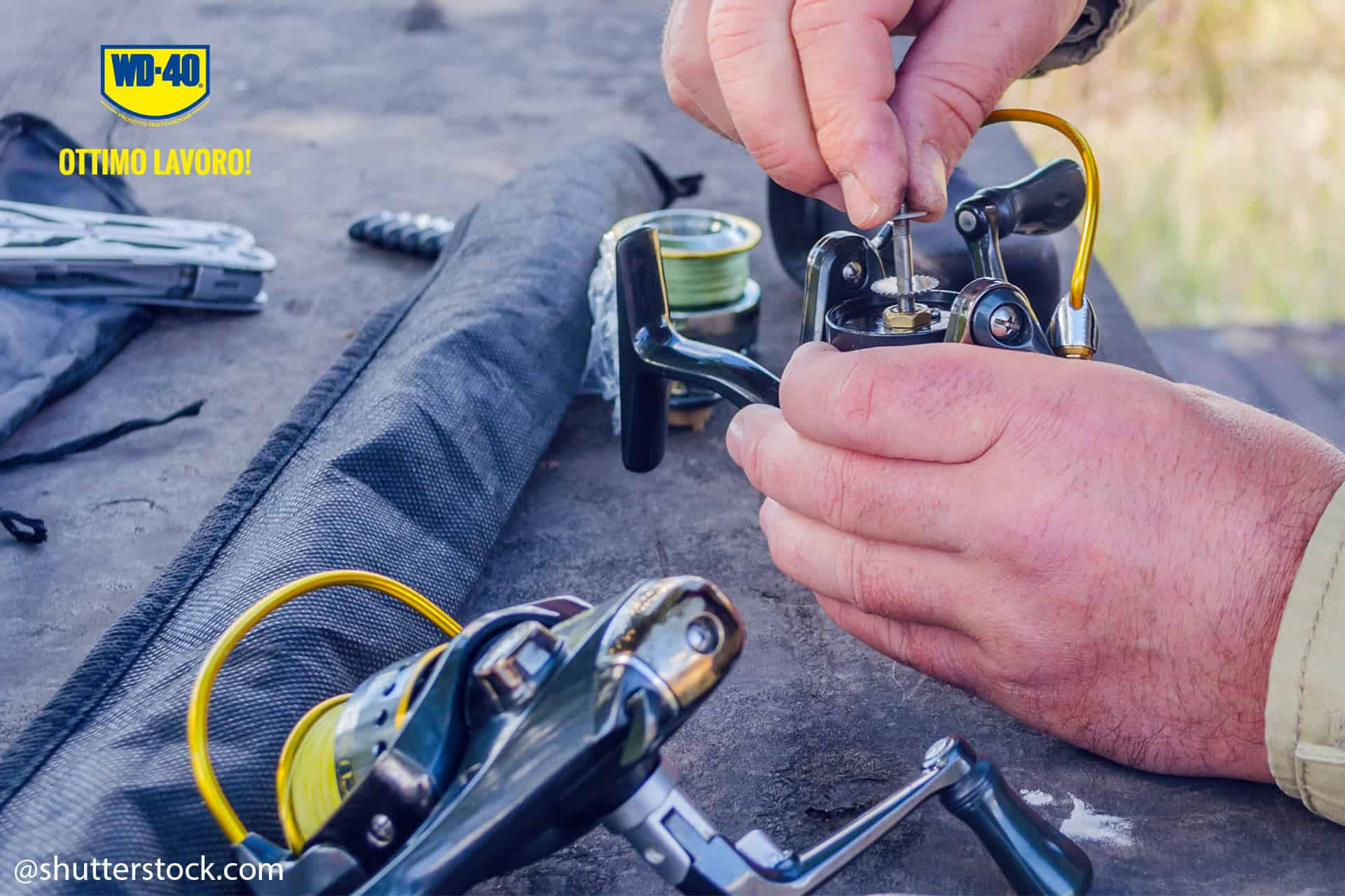 how to carry out fishing reel maintenance 4@shutterstock.com
