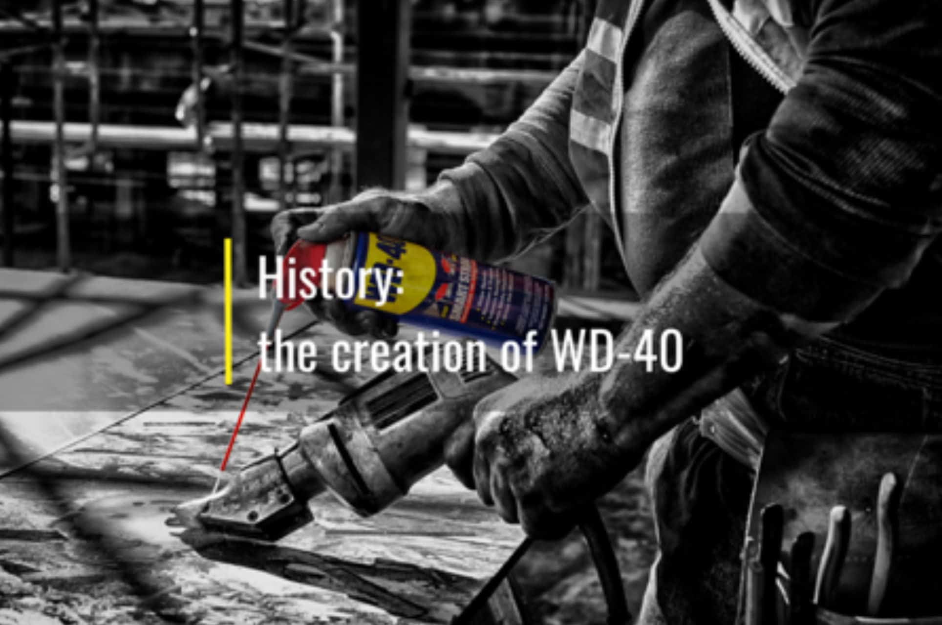 creation of wd40