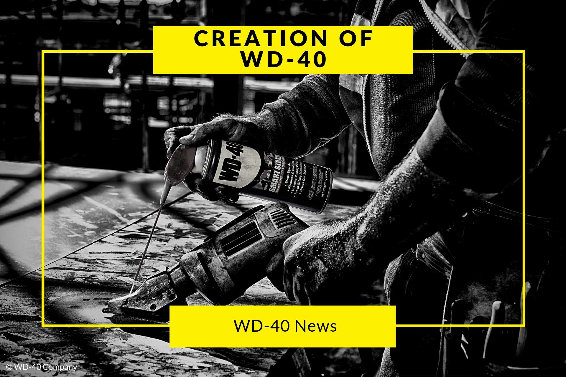 creation of wd 40