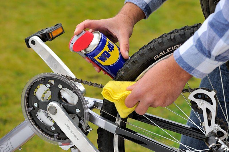 Mantenimiento de la bici: Engrasar la cadena de la bici