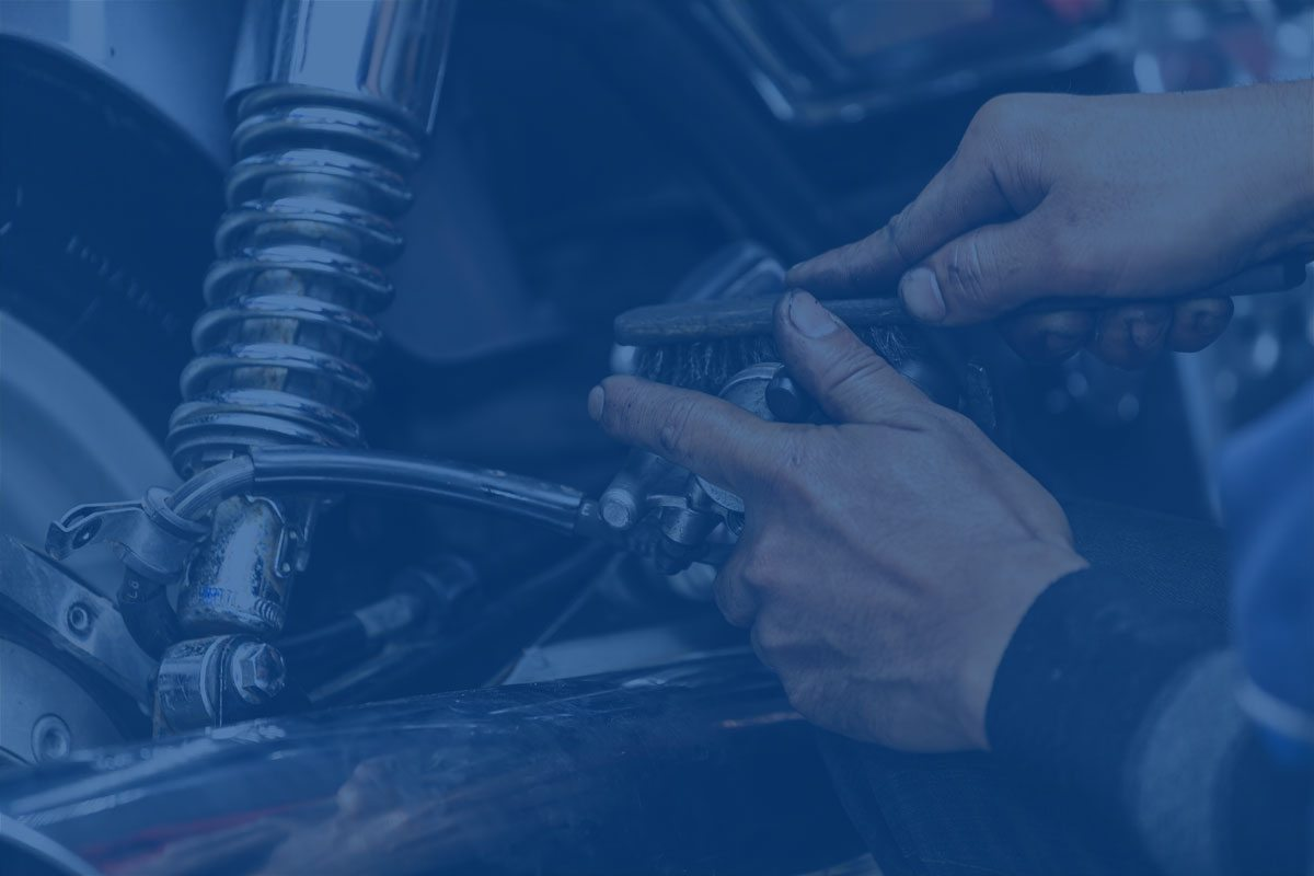 mantenimiento de la moto