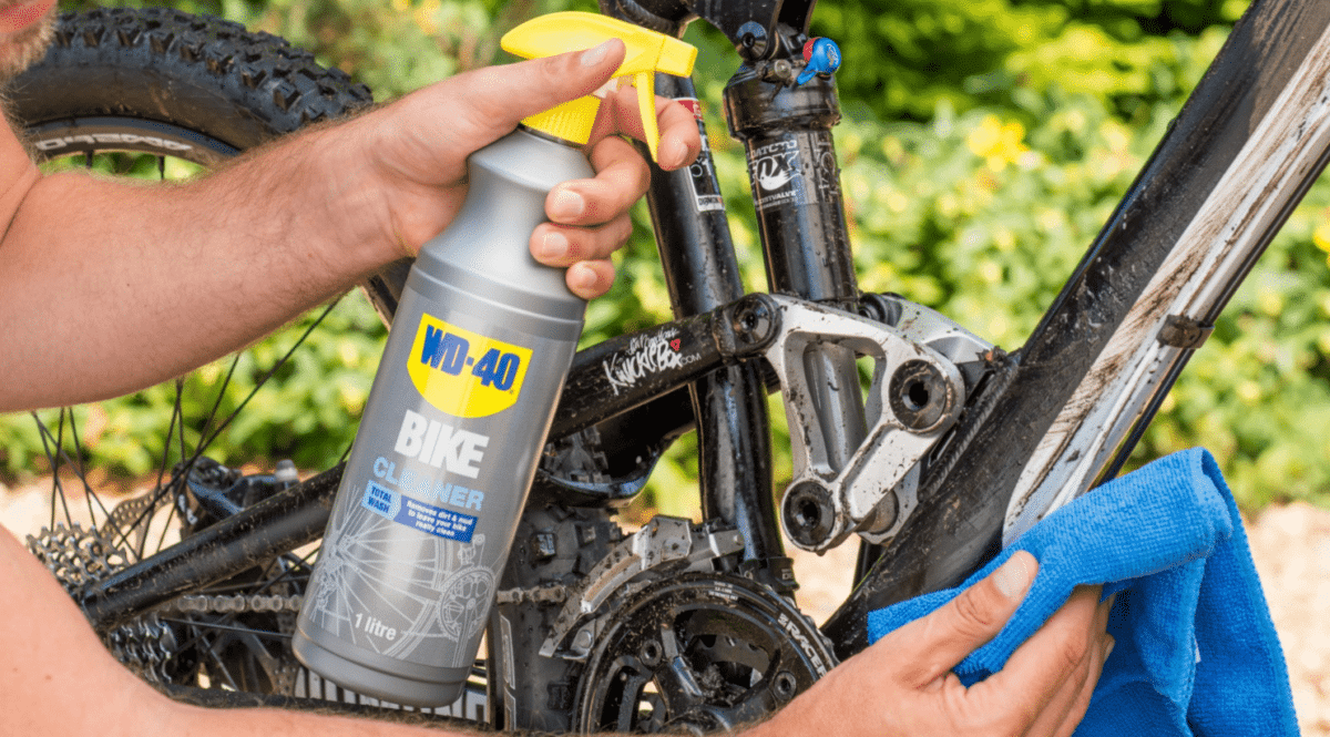 cómo limpiar una bicicleta