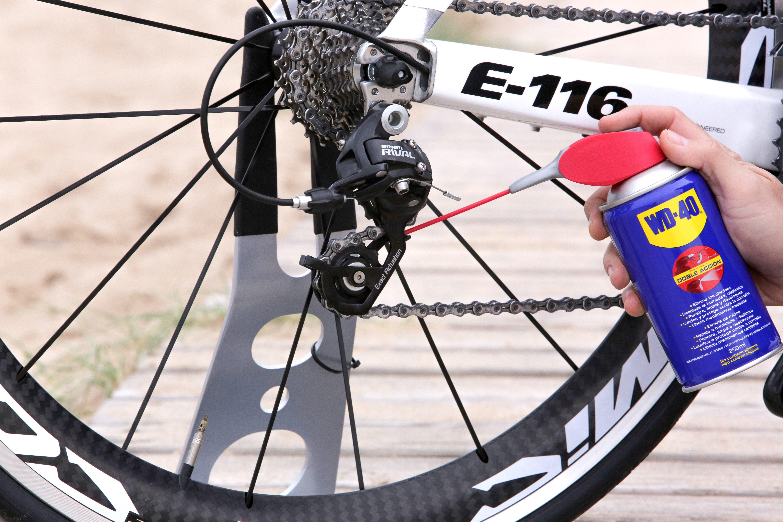 ajustar el cambio de la bici