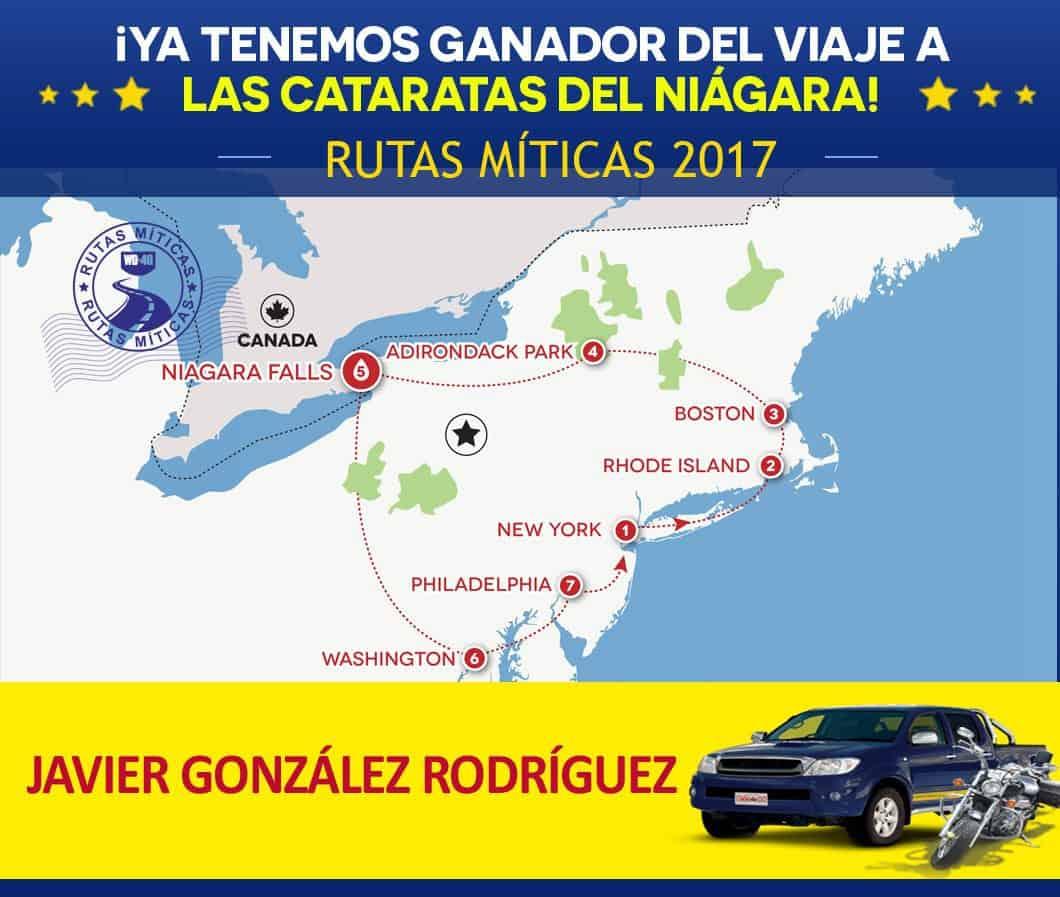 ¡Ya tenemos ganador de Rutas Míticas 2017!