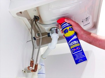 wd-40 flexible fontaneria