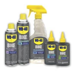 ¿Qué productos son recomendables para el mantenimiento de la bici?