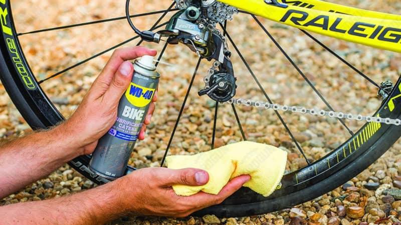 lubricar cadena bici