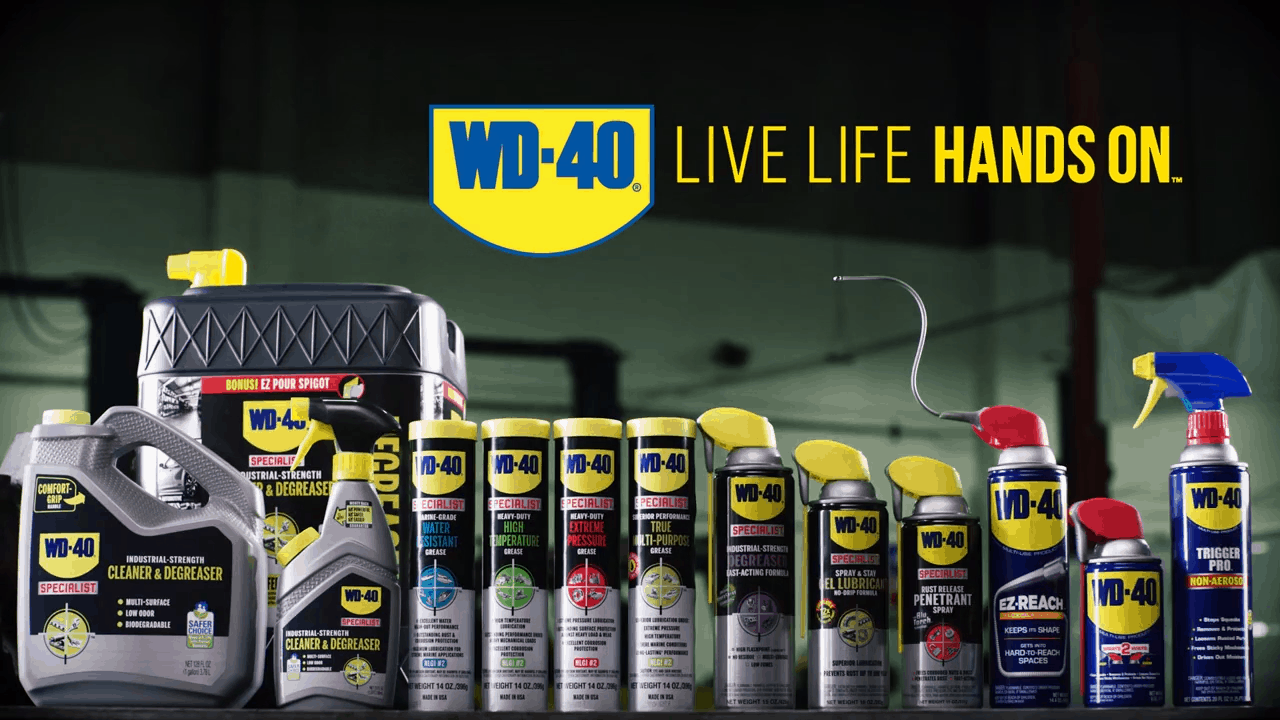 vivir la vida con la marca WD-40