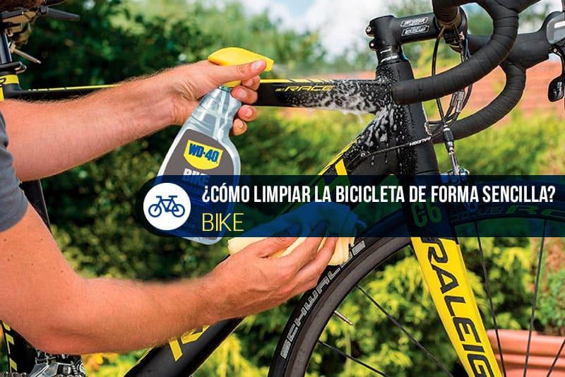 cómo limpiar la bicicleta