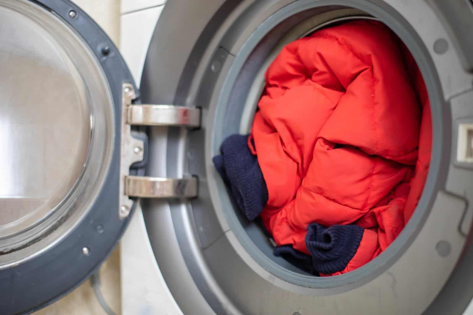 lavar chaqueta