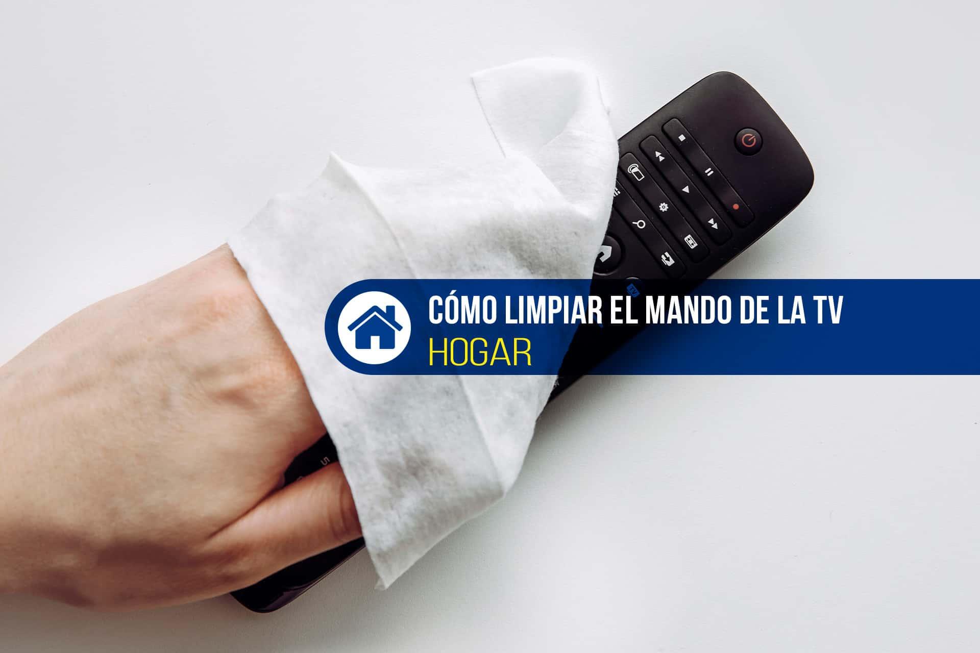 guía limpieza mando a distancia