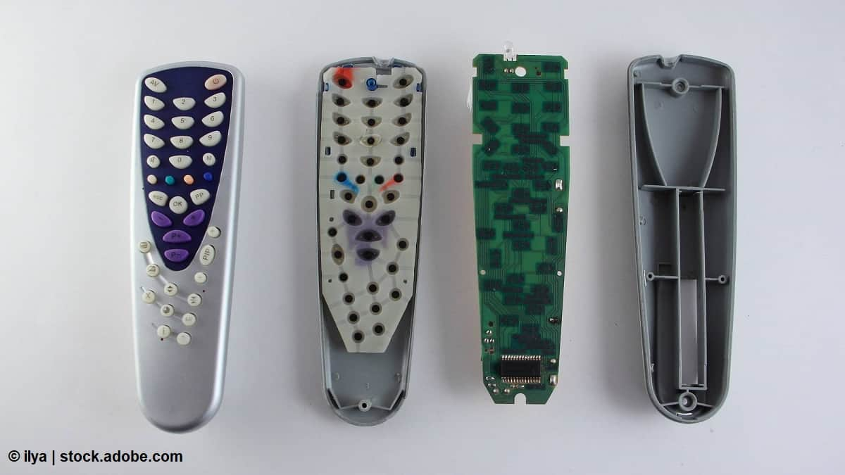 como limpiar un mando a distancia
