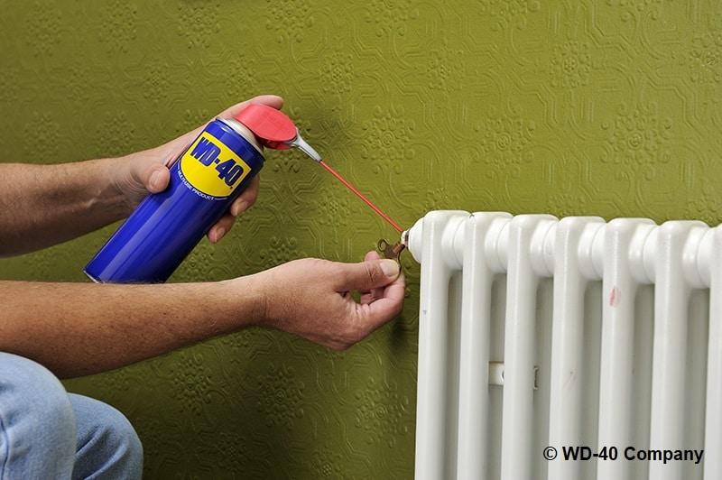 cómo purgar un radiador