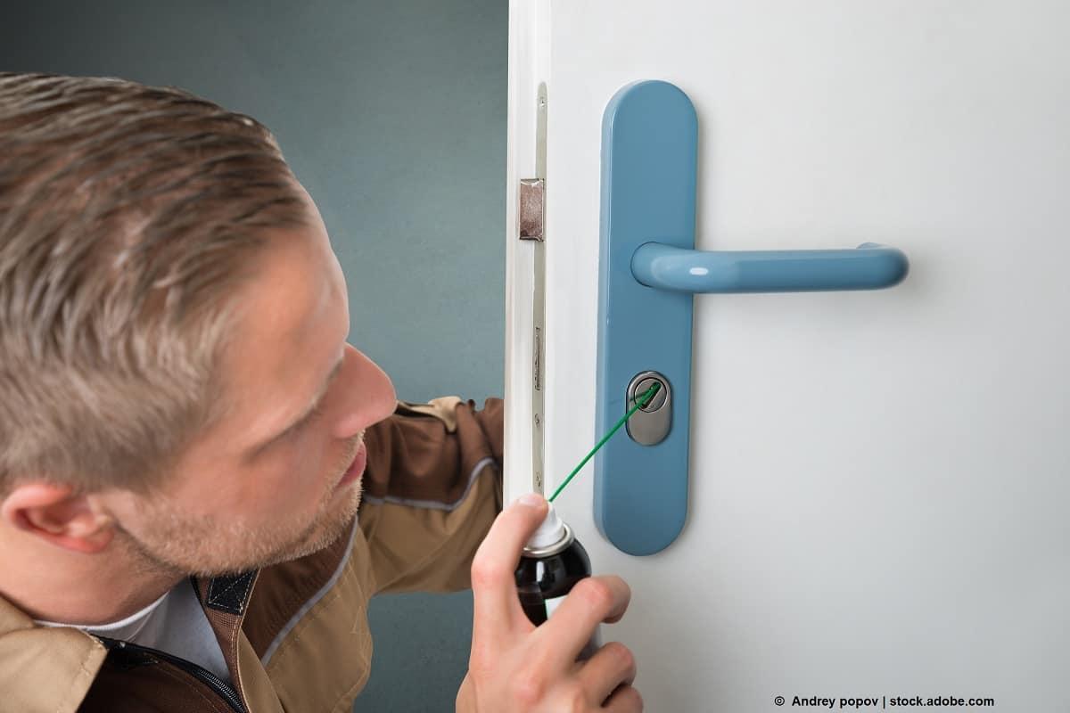 lubricar cerradura llave partida