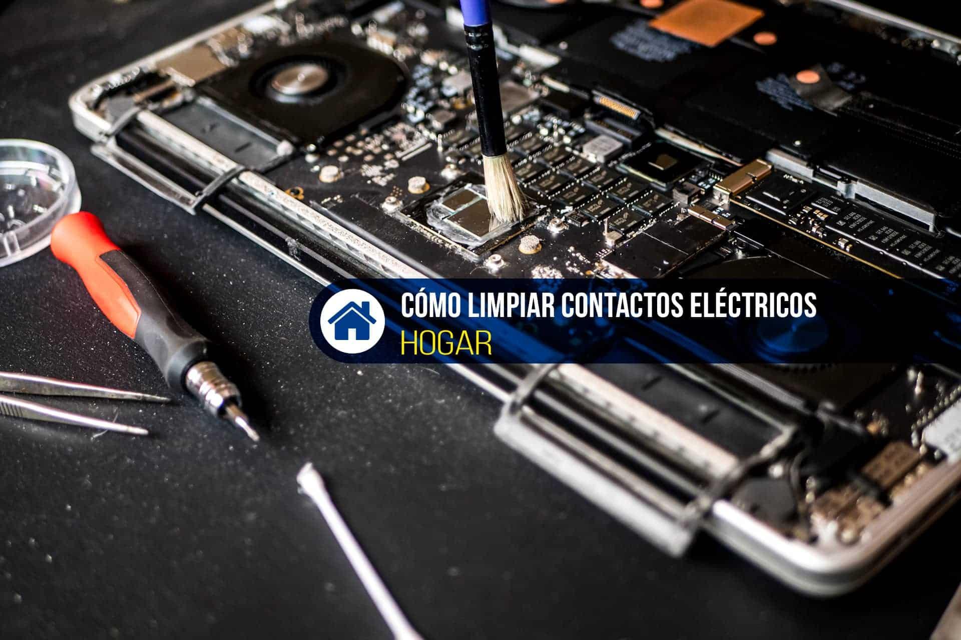 limpiar contactos eléctricos