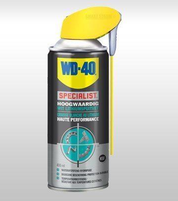 WD-40 Specialist Hoogwaardig Wit Lithiumspuitvet