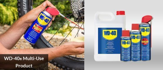 WD-40 Multi Use Product assortiment