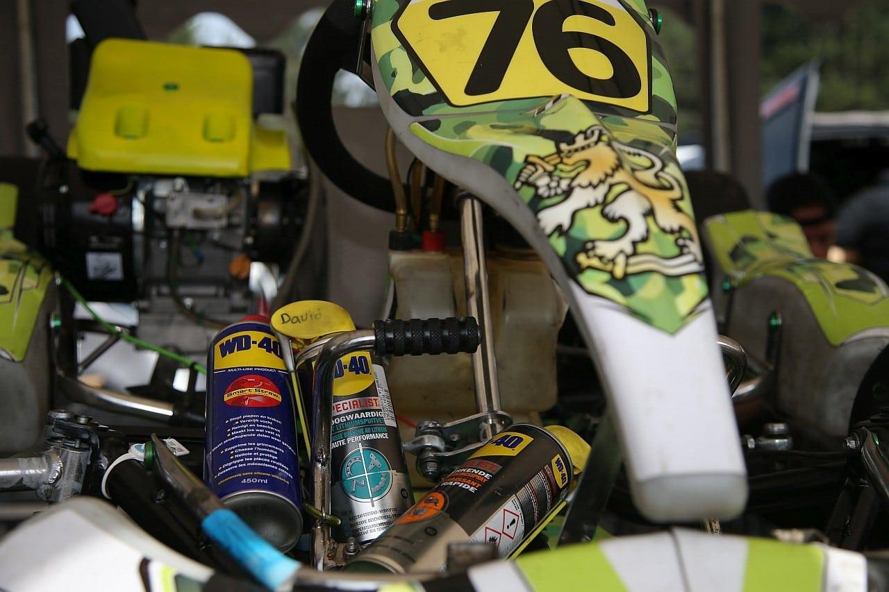 NK-4T Karting-Werkplaats