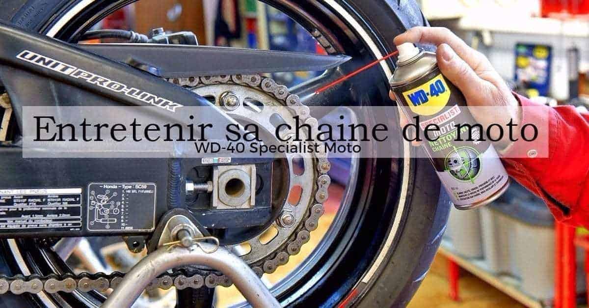 Nettoyant Chaine WD-40 Specialist moto