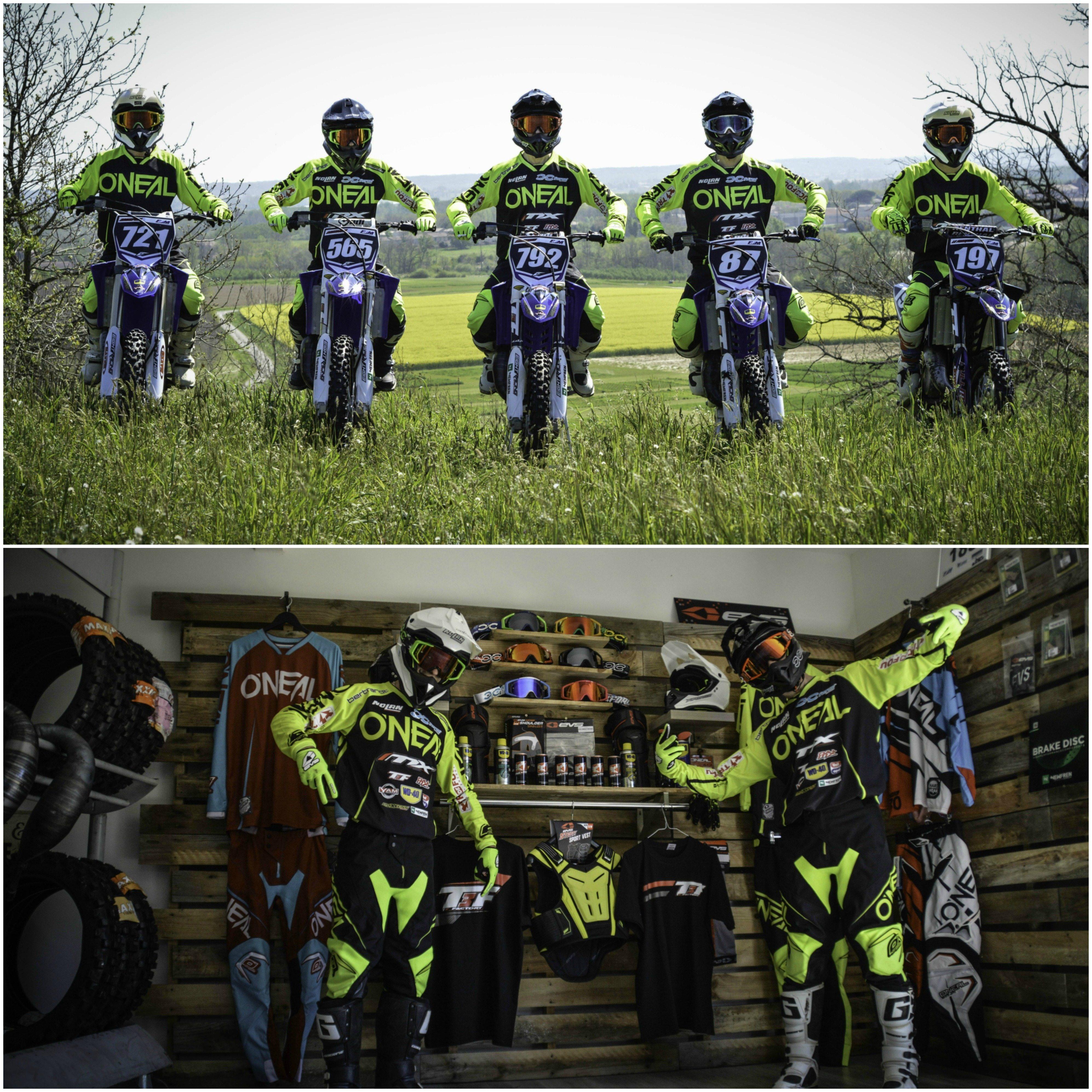 Présentation des équipes sponsorisées par WD-40, saison 2017 !