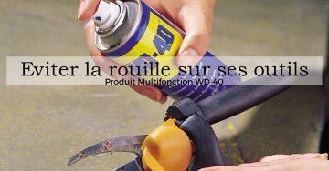 Sécateur sans rouille et Produit Multifonction WD-40
