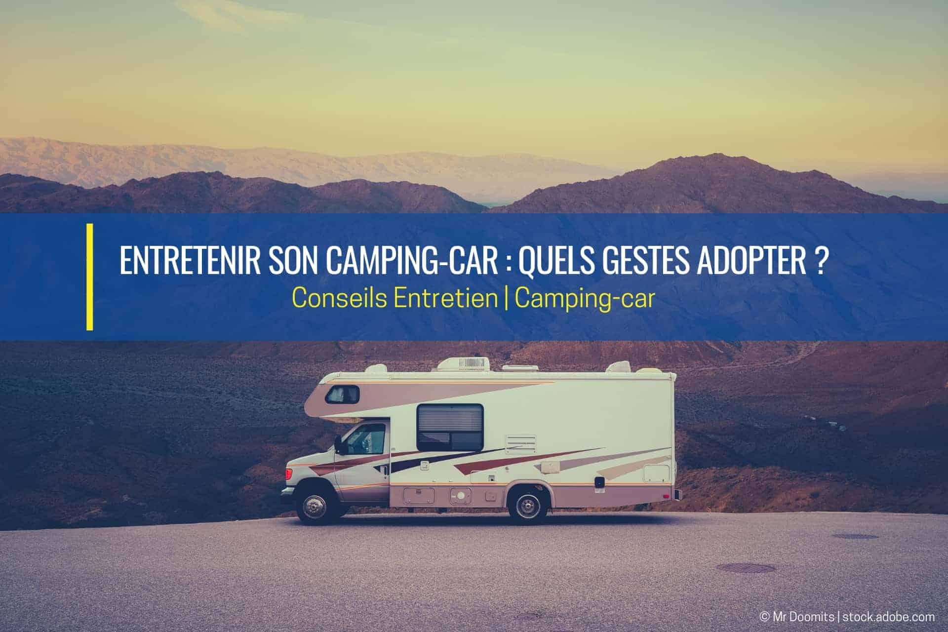 entretien du camping car