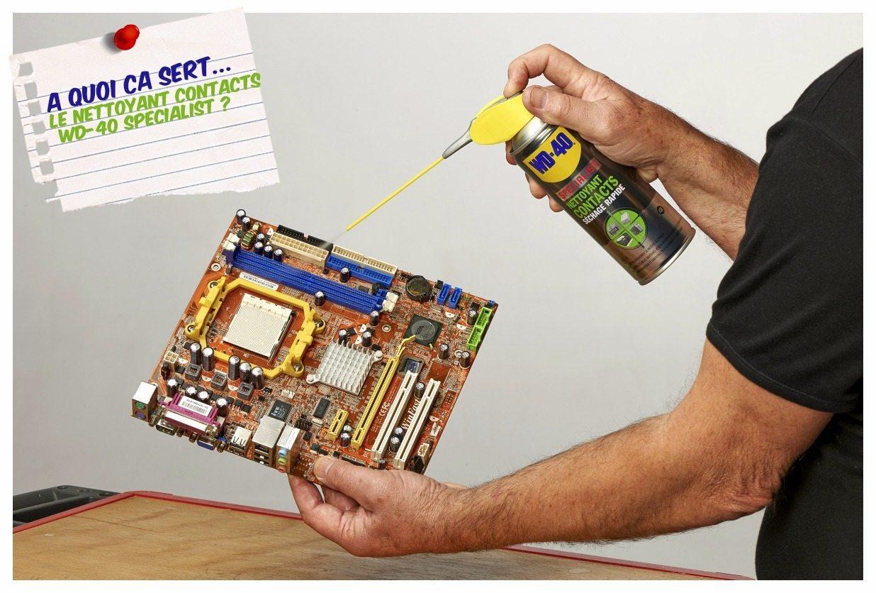 Contacts lectriques comment les entretenir et avec quel produit - Nettoyant contact electrique ...