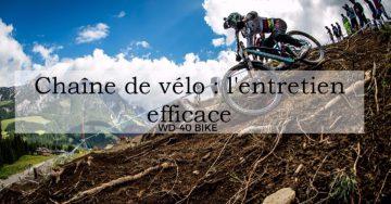 Chaîne de vélo : l'entretien efficace