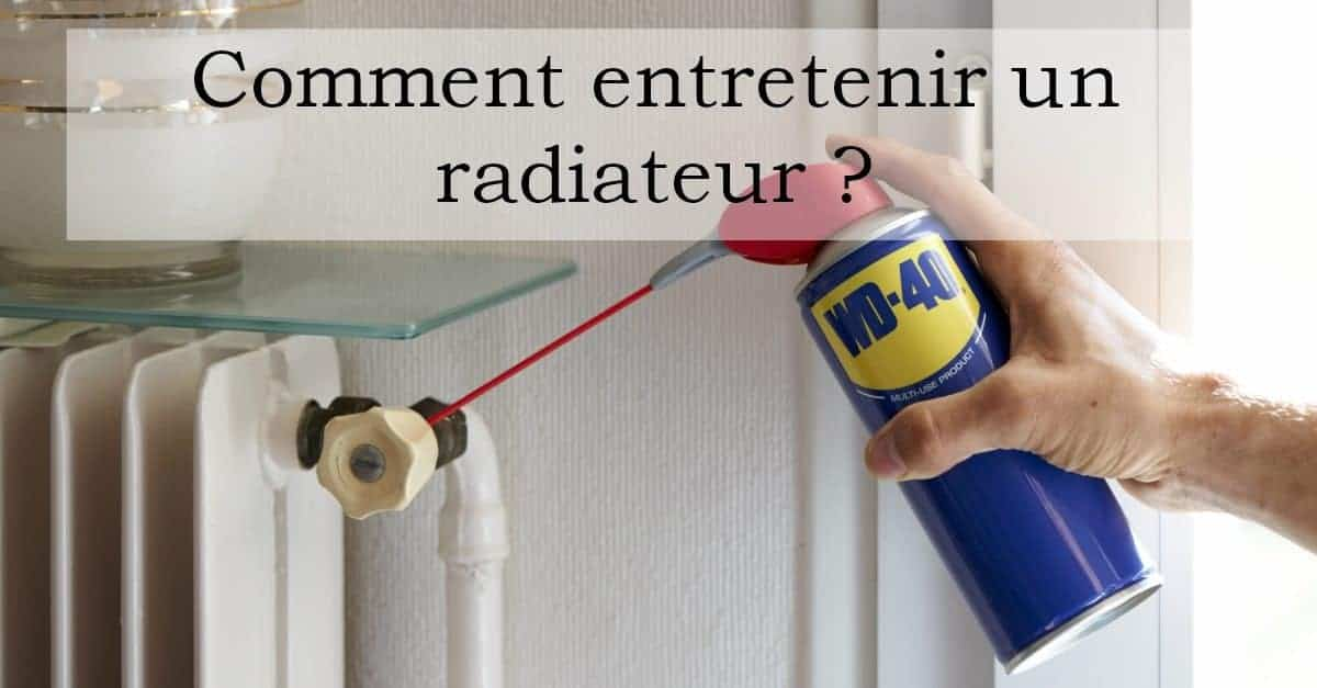 radiateur comment l 39 entretenir pour l 39 hiver wd 40 france. Black Bedroom Furniture Sets. Home Design Ideas