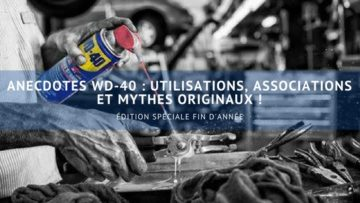 Anecdotes WD-40 utilisations originales