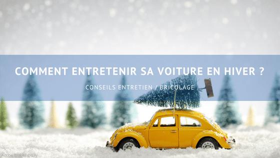 Comment entretenir sa voiture en hiver ?