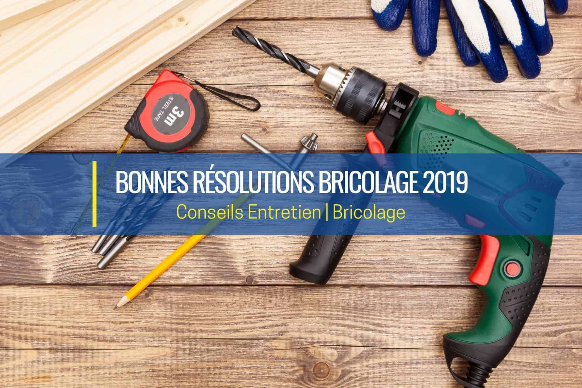 bonnes résolutions bricolage 2019 bd