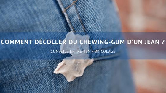décoller du chewing-gum