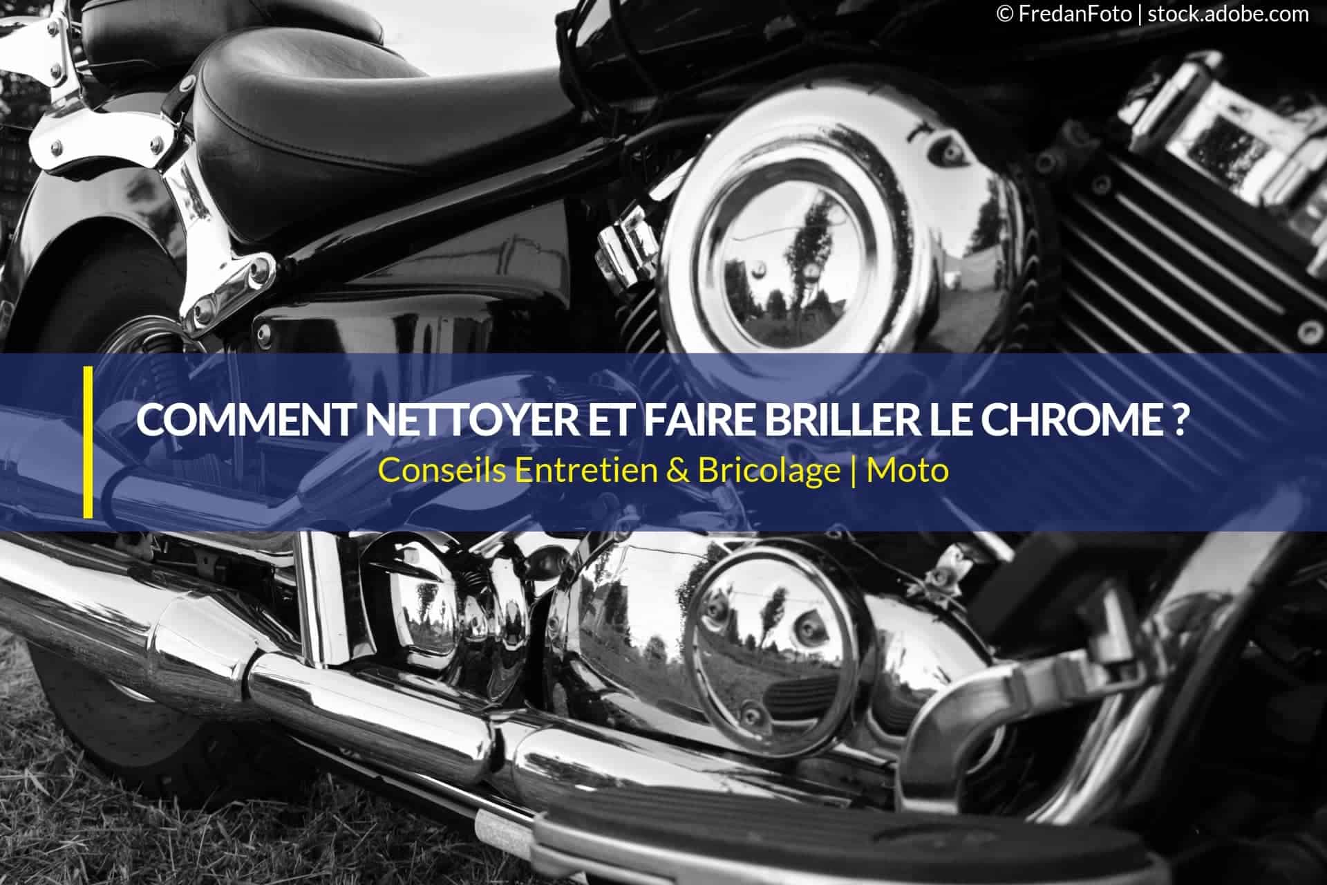nettoyer faire briller le chrome