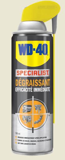 Specialist-degaissant