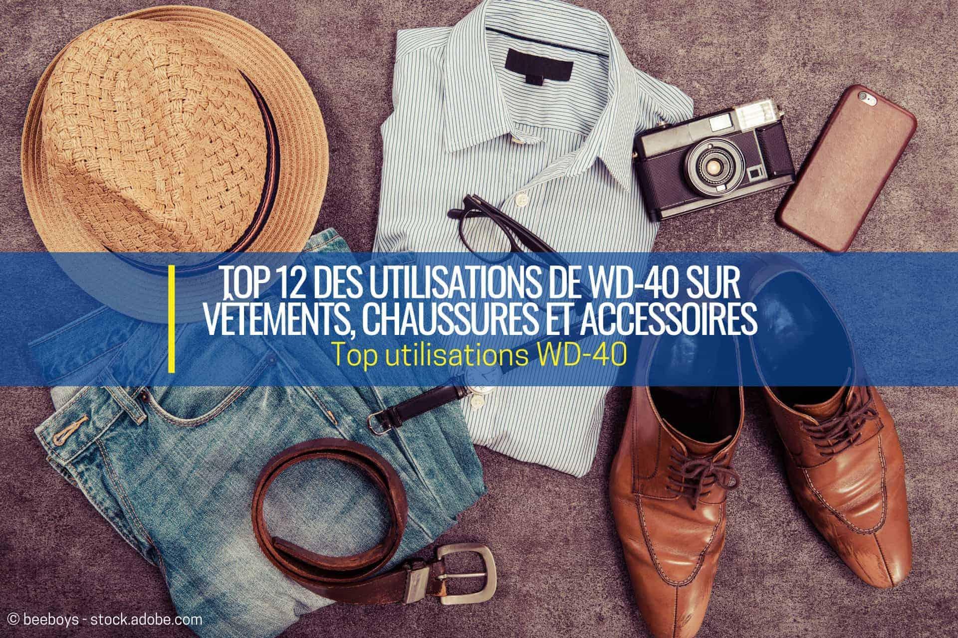 acheter authentique professionnel de premier plan nouvelle arrivée Top 12 des utilisations de WD-40 sur vêtements et ...