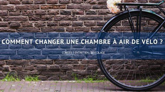 changer chambre à air de vélo